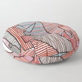 Bridget Riley Floor Pillow