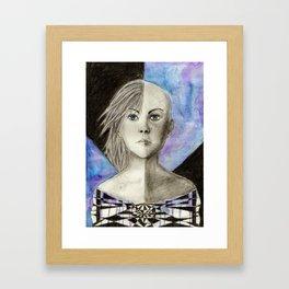 goodness is something chosen Framed Art Print