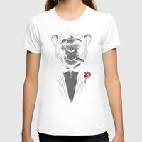 business T-shirts featuring Monkey Business by Alex Solis