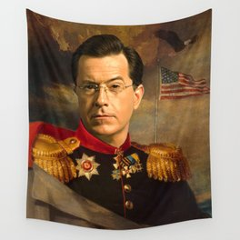 Stephen Colbert 19th Century Classical Painting Wall Tapestry