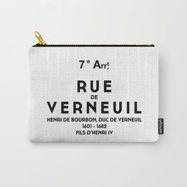 VERNEUIL Carry-All Pouch