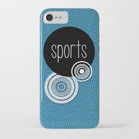 sports iPhone & iPod Cases featuring SPORTS by VIAINA DESIGN