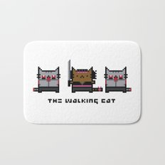 The Walking Cat - Meowchonne Bath Mat
