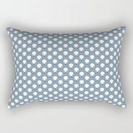 Japanese Waterfall  Rectangular Pillow