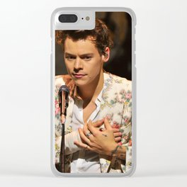 Harry Styles Clear iPhone Case