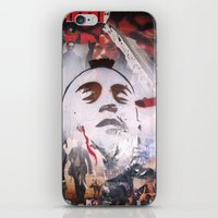 taxi driver iPhone & iPod Skins featuring TAXI DRIVER by John McGlynn
