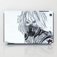 the winter soldier iPad Cases featuring Winter Soldier  by Pruoviare