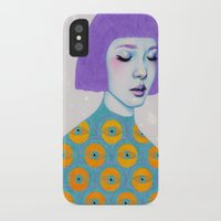 sweater iPhone & iPod Cases featuring The Observer by Natalie Foss