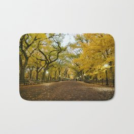 Central Park New York City Bath Mat