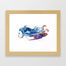 Of Dreams and Wishes Framed Art Print