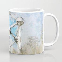 Atomium Brussels, Belgium Coffee Mug