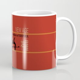 Rufus President of Shinra Campaign Logo - Final Fantasy VII Coffee Mug