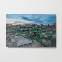 At the Top of the World: 1 Metal Print