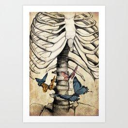 You Still Give Me Butterflies Art Print