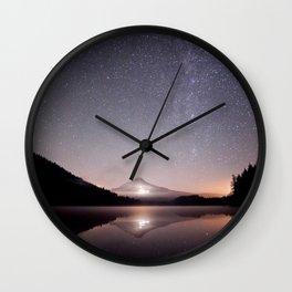 Trillium Lake Wall Clock