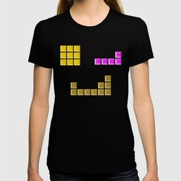 Tetris face #society6 #decor #buyart #artprint T-shirt