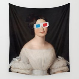 Living In Reality Wall Tapestry