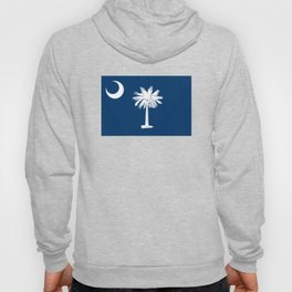 State flag of South Carolina - Authentic version Hoody
