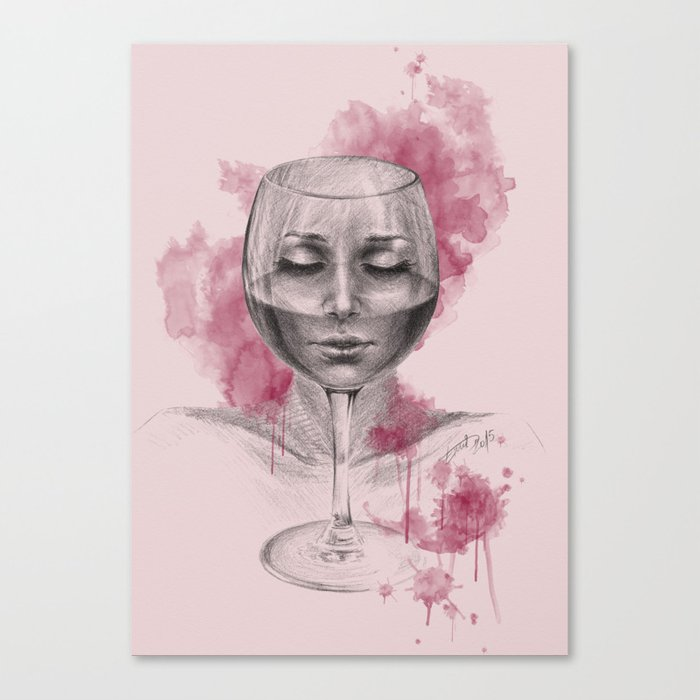Till I disappear Canvas Print