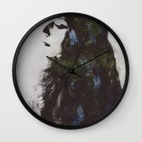 grace Wall Clocks featuring Grace by  Maʁϟ