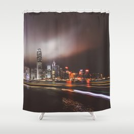 Night city 5 Shower Curtain