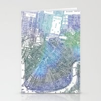 new orleans Stationery Cards featuring New Orleans by Catherine Holcombe