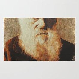 Charles Darwin, Scientist Rug