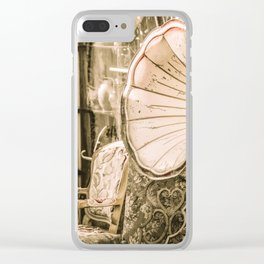 Gramophone Clear iPhone Case