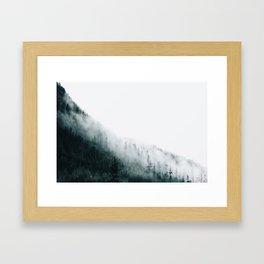 Foggy PNW Framed Art Print