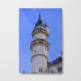 Castle tower Germany Metal Print