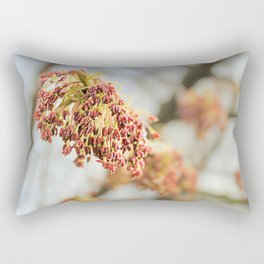Young tree seeds. Rectangular Pillow