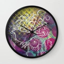 After Audrey Bird Wall Clock