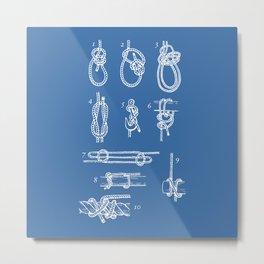 Nautical knots Metal Print