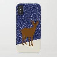 reindeer iPhone & iPod Cases featuring Reindeer by Mr & Mrs Quirynen
