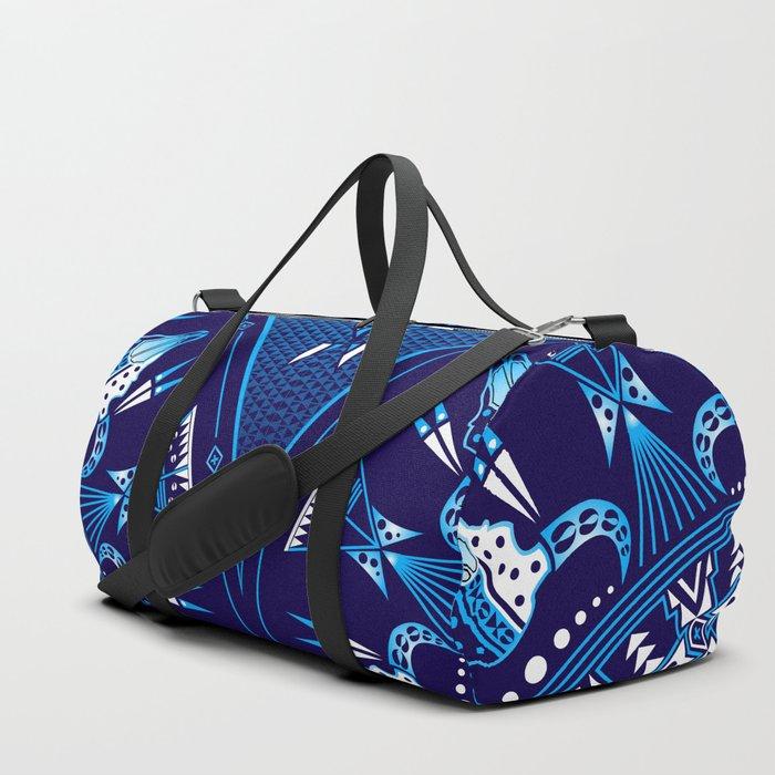 buffalo Gathering blue Duffle Bag