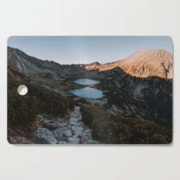 Mountain Ponds - Landscape and Nature Photography Cutting Board