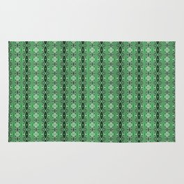 Bejewelled Emerald Rug