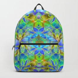 Floral Fractal Art G20 Backpack
