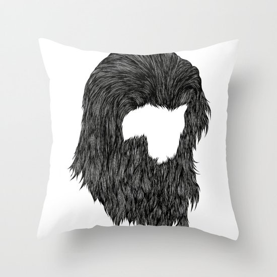 Chewie Throw Pillow