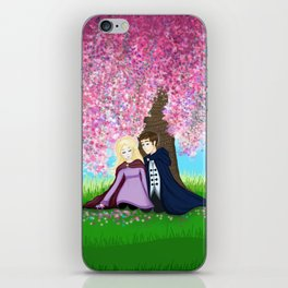 Sophie and Fitz iPhone Skin