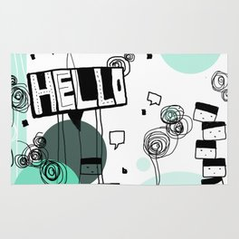 HELLO! Rug