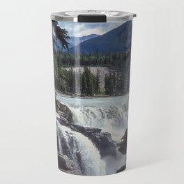 Athabasca Falls 5 Travel Mug