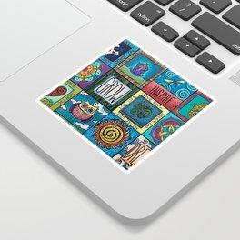 Patchwork Sticker