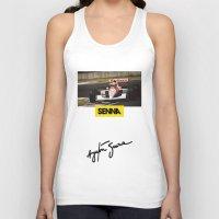 senna Tank Tops featuring Senna by Rassva