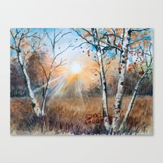 untitled landscape Canvas Print
