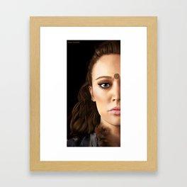 Lexa Painting Framed Art Print