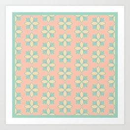 Pattern_01 Art Print