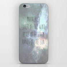 MOONCHILD iPhone & iPod Skin