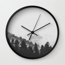 INTO THE WILD XI / Switzerland Wall Clock