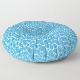Blue Swimming Pool Floor Pillow